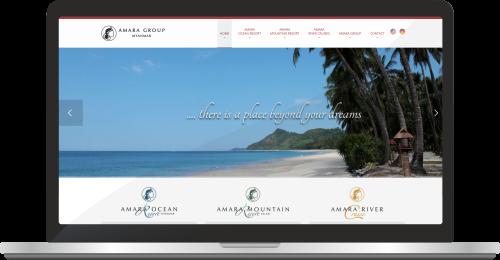Website Amara-myanmar.travel