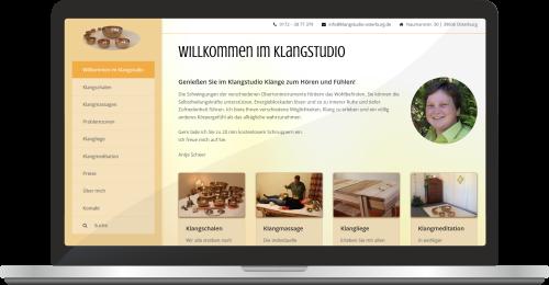 Website Klangstudio-osterburg.de