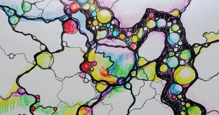 Neurographik – Transformation Mit Zeichnerischem, Kreativem Ansatz