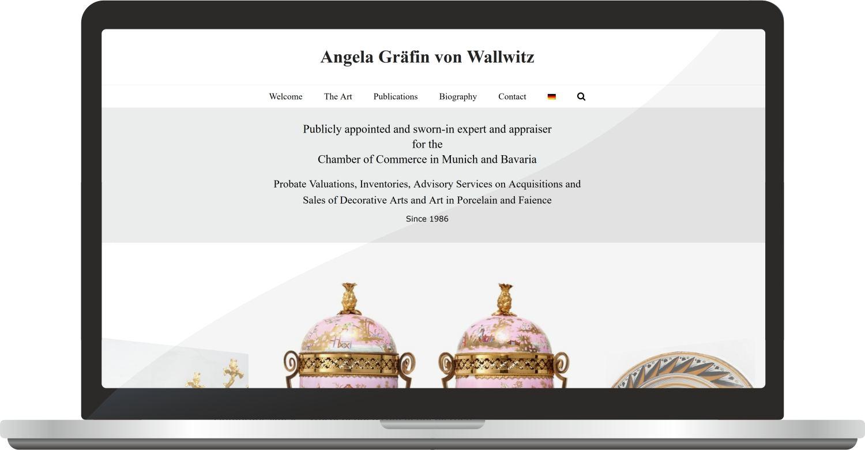 Webdesign Angelawallwitz.com