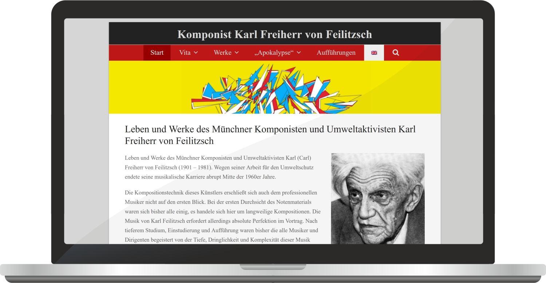 Webdesign Komponist-feilitzsch.com