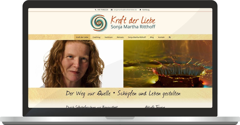 Webdesign Kraftderliebe.de
