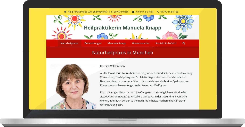 Website Manuelaknapp.de