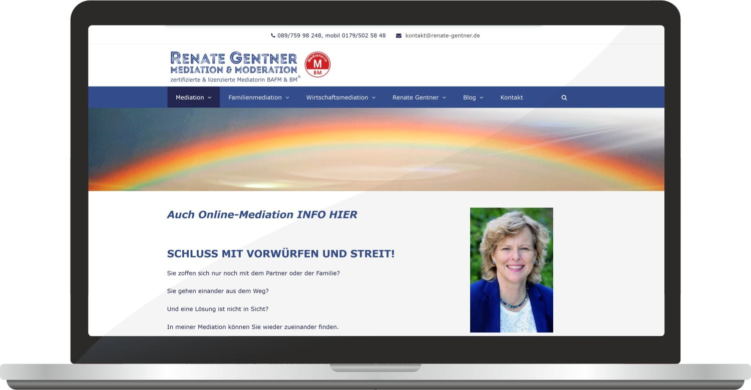 Webdesign Renate-gentner.de