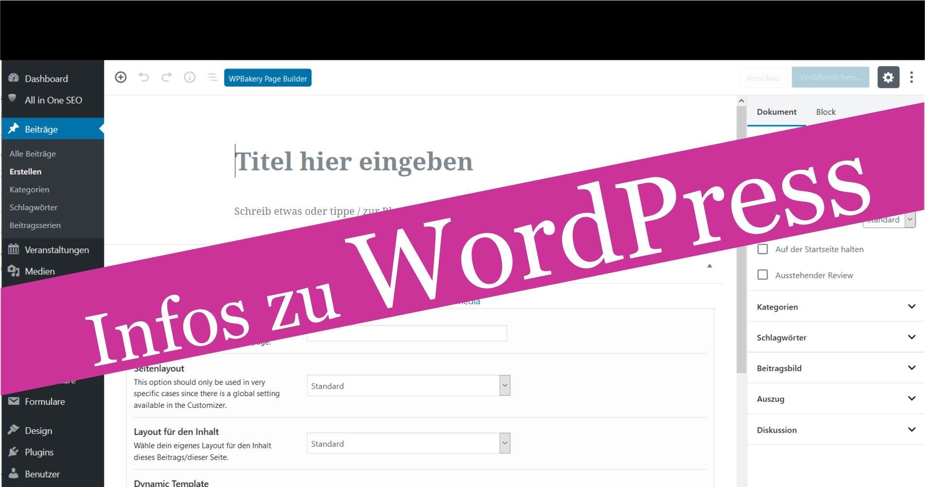 Änderungen Durch WordPress-Update: Gutenberg – Editor