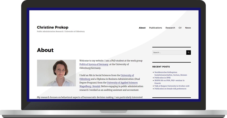 Webdesign  Christine Prokop