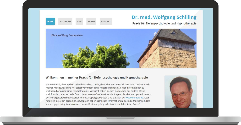 Webdesign Dr. W. Schilling