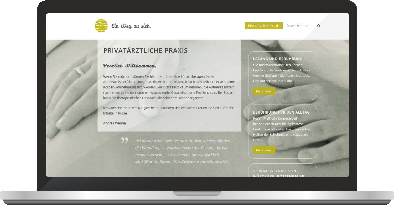 Webdesign Praxis Andrea Werner
