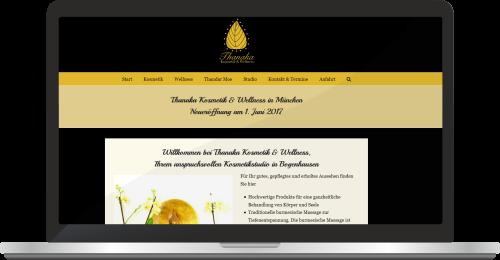 Website Www.thanaka-kosmetik.de