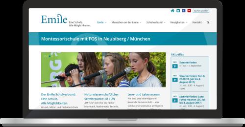 Website Www.emile-montessori.de