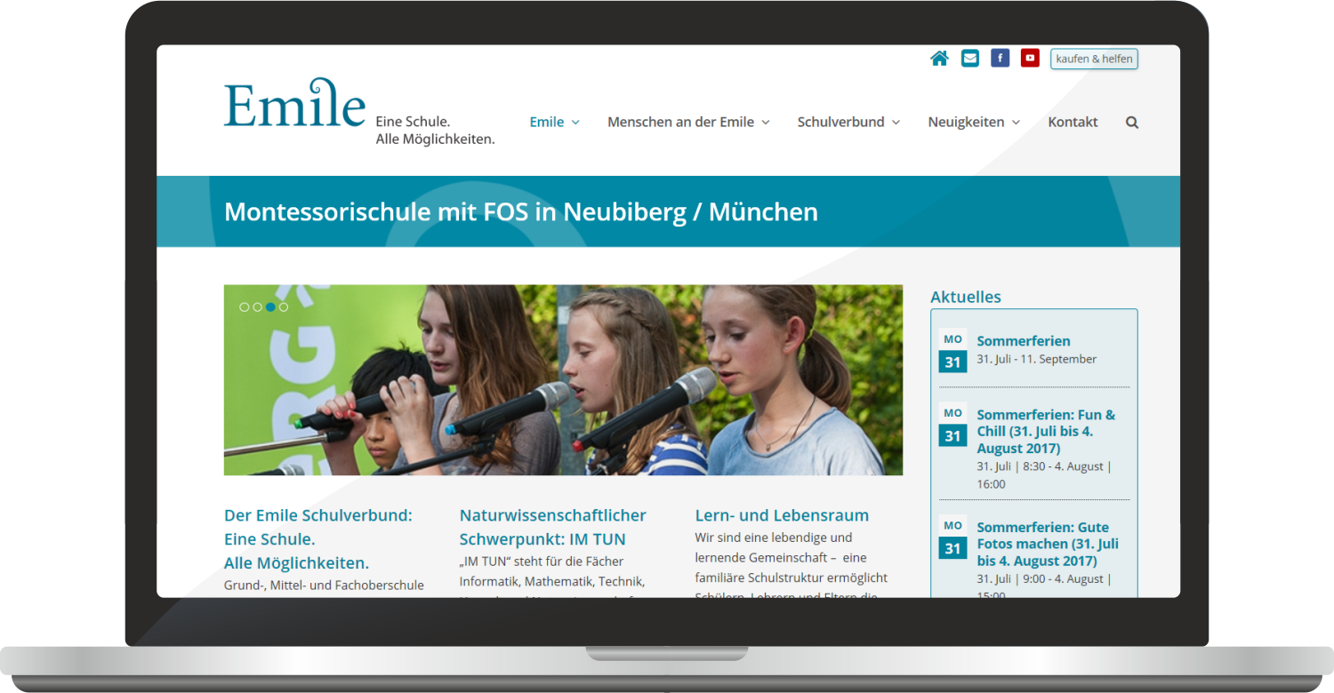 Website Www.emile-montessori.de